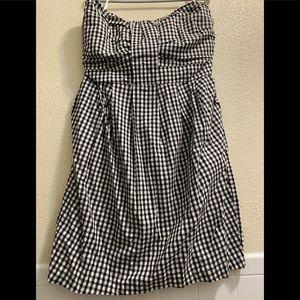 TORRID Strapless Gingham Dress